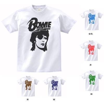 バンド ロック Tシャツ デヴィッド・ボウイ David Bowie 白
