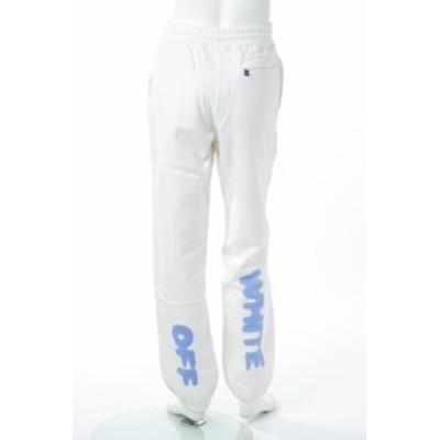 オフホワイト OFF-WHITE トレーナーパンツ スウェットパンツ ホワイト メンズ (CH008F18 192038) 送料無料 2020AW_SALE