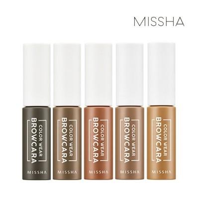 ミシャ(Missha) カラーウェアブロウカラー 7.5g - 5種(タイプ) : きれいな印象を演出してくれます。 ::韓国コスメ ミシャ Missha