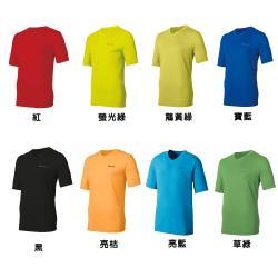 【瑞士ODLO】男銀離子V領短袖T恤 200852