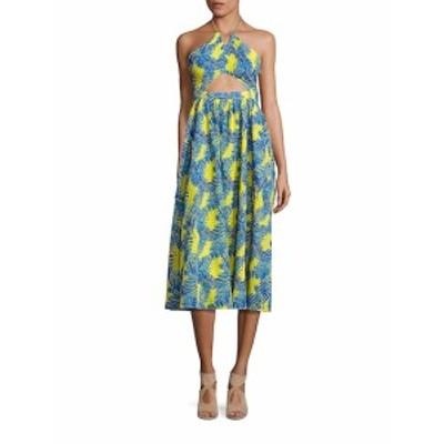 ペゼリコ レディース ワンピース Julianna Cotton Cutout Midi Dress