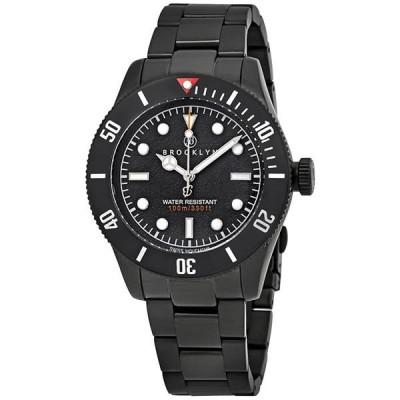 腕時計 ブルックリンウォッチ メンズ Black Brooklyn Watch Co. Black Eyed Pea Men's Watch - Choose color