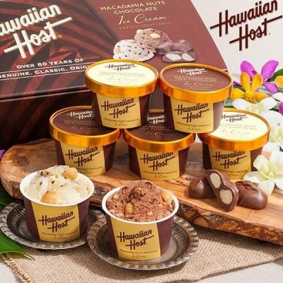 送料無料 直送 ハワイアンホースト マカダミアナッツ チョコアイス  AH-HH  2種 計 7個  ( スイーツ アイスクリーム アイス ギフト )ybk-AH-HH