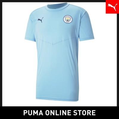 プーマ メンズ サッカー 半袖Tシャツ PUMA マンチェスター シティー MCFC ウォームアップ Tシャツ