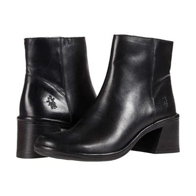 FLY LONDON LAPA522FLY レディース ブーツ Black Columbia Leather