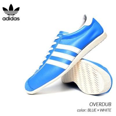 adidas OVERDUB BLUE × WHITE アディダス オーバーダブ スニーカー ( 青 白 ブルー ホワイト カントリー COUNTRY メンズ FV9682 )