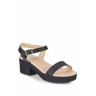 レンビー レディース シューズ サンダル Satin Block Heel Sandals