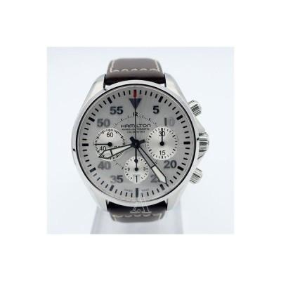 腕時計 ハミルトン Hamilton Khaki Aviation Pilot Auto Chrono Men's Automatic Watch H64666555-SD
