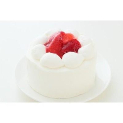 苺デコレーションケーキ4号【送料無料】2人分サイズ