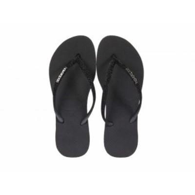 Havaianas ハワイアナス レディース 女性用 シューズ 靴 サンダル Slim Sparkle Sandal Black【送料無料】