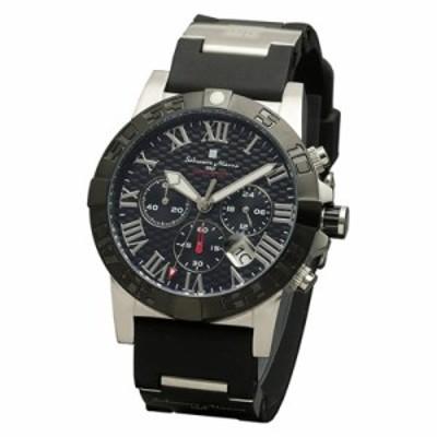 【送料無料】サルバトーレマーラ 腕時計 クロノグラフウレタンベルトウォッチ SM18118-SSBK Salvatore Marra エスケイインターナショナル