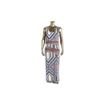 海外セレクション ドレス ワンピース Lysse 1673 レディース ブルー Modal ノースリーブ Full-Length Maxi ドレス Plus 1X BHFO