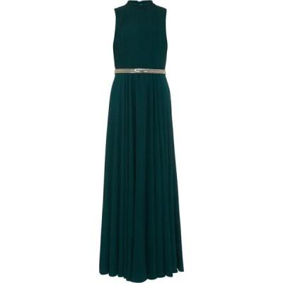 フェイズ エイト Phase Eight レディース パーティードレス マキシ丈 ワンピース・ドレス Nicola Embellished Maxi Dress Peacock Green