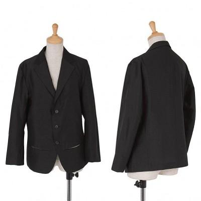 【SALE】ワイズY's ウールカットポケットジャケット 黒3 【レディース】