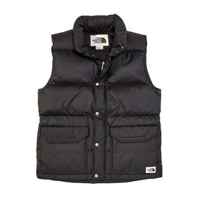 ノースフェイス メンズ ジャケット&ブルゾン アウター Sleeveless Sierra Down Ripstop Water Resistant Vest Black