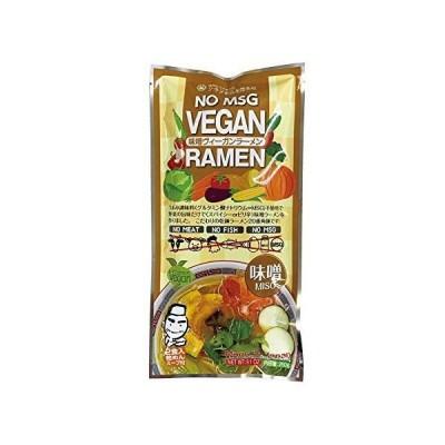 ケース販売 クラタ食品 ヴィーガン食 ヴィーガン ラーメン 味噌 2食入 x 20袋 セット 乾麺 スープ セット