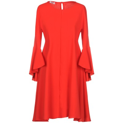 KATE BY LALTRAMODA ミニワンピース&ドレス レッド L ポリエステル 95% / ポリウレタン 5% ミニワンピース&ドレス