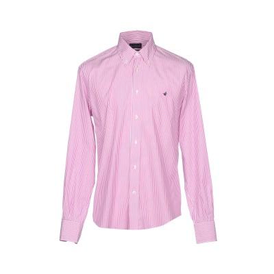 ブルックスフィールド BROOKSFIELD シャツ ピンク VI コットン 100% シャツ