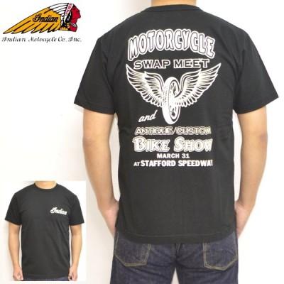 インディアンモーターサイクル IM78740 半袖Tシャツ INDIAN MORTORCYCLE BIKE SHOW バイク バイカー トップス メンズ