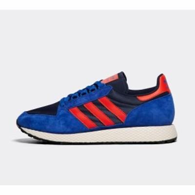 アディダス adidas Originals メンズ スニーカー シューズ・靴 forest grove trainer Powder Blue/Hi Res Red