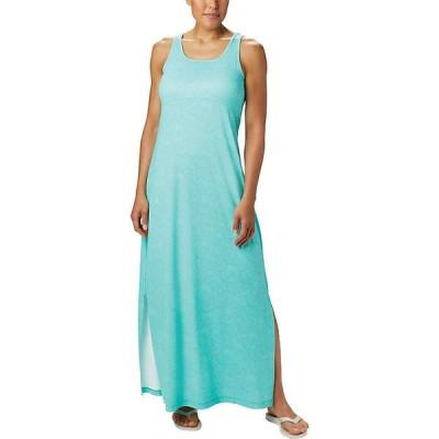 コロンビア Columbia レディース ワンピース マキシ丈 ワンピース・ドレス Freezer Maxi Dress Dolphin Seaside Swirls Print