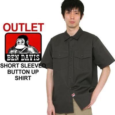 アウトレット 返品・交換・キャンセル不可 │ ベンデイビス シャツ 半袖 メンズ ワークシャツ 大きいサイズ USAモデル
