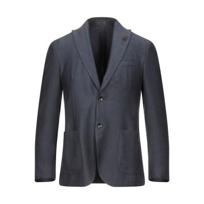 ラルディーニ LARDINI テーラードジャケット ブルー 46 ウール 80% / ポリエステル 20% テーラードジャケット
