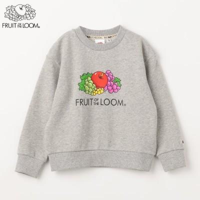 おすすめセレクト商品 / FRUIT OF THE LOOM Kidsプリントスウェットシャツ