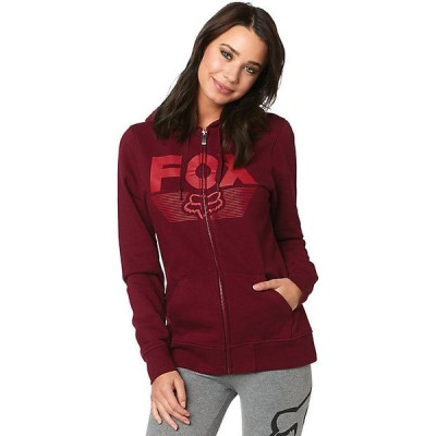 フォックス パーカー・スウェットシャツ レディース アウター Fox Women's Acot Zip Fleece Cranberry