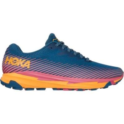 ホカ オネオネ HOKA ONE ONE レディース ランニング・ウォーキング シューズ・靴 Torrent 2 Trail Running Shoe Moroccan Blue/Saffron
