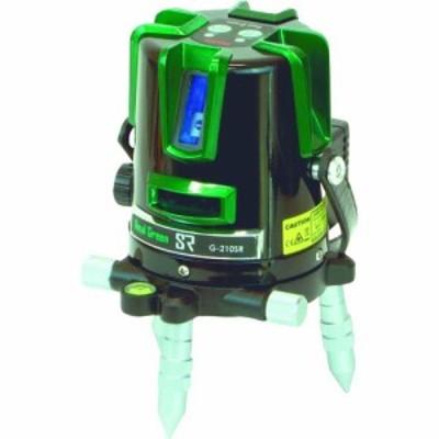 マイゾックス グリーンレーザー墨出器 G-210SR (1台) 品番:222743