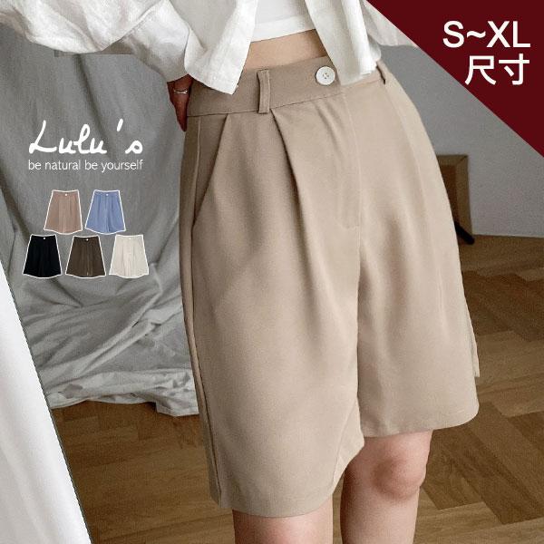 限時下殺【A04210072】Y打摺5分西裝褲S-XL5色