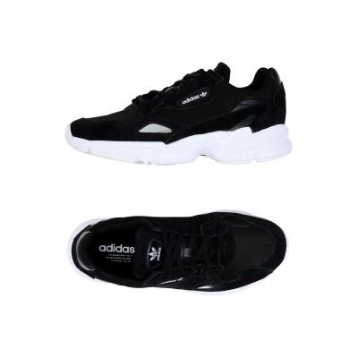 ADIDAS ORIGINALS スニーカー&テニスシューズ(ローカット) ブラック 6.5 革 / 紡績繊維 スニーカー&テニスシューズ(ローカッ