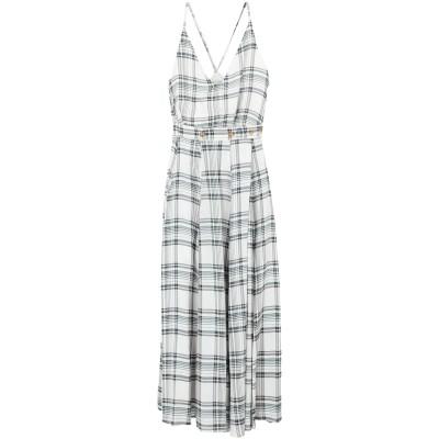アリジ ALYSI 7分丈ワンピース・ドレス ライトグレー 44 レーヨン 100% 7分丈ワンピース・ドレス
