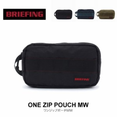 BRIEFING ブリーフィング ワンジップポーチMW ポーチ 小物入れ iphone 収納 BRM181611