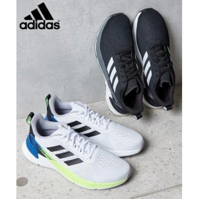 adidas メンズシューズ メンズ Adidas RESPONSE SUPER M ブラック/ホワイト 25cm~31cm ニッセン nissen