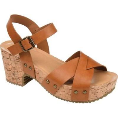 ジュルネ コレクション レディース サンダル シューズ Valentina Quarter Strap Platform Sandal