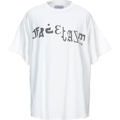 ファセッタズム FACETASM メンズ Tシャツ トップス t-shirt White