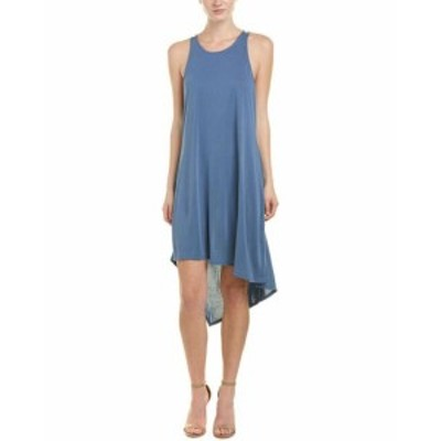BCBGMAXAZRIA BCBG マックスアズリア ファッション ドレス Bcbgmaxazria High-Low Shift Dress M Blue