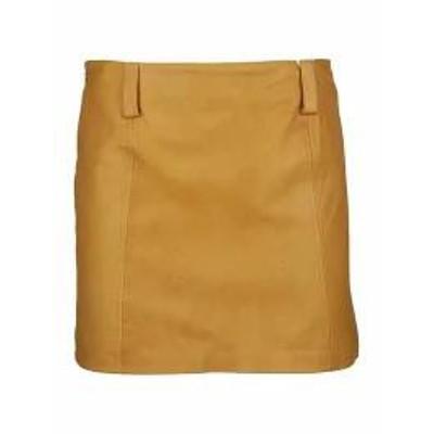 Vintage Deluxe レディーススカート Vintage Deluxe Vintage De Luxe Mini Leather Skirt Ba