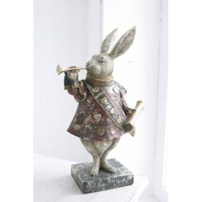 トランプウサギ かわいい うさぎ 置物 おしゃれ  インテリア コベントガーデン co-bk-03
