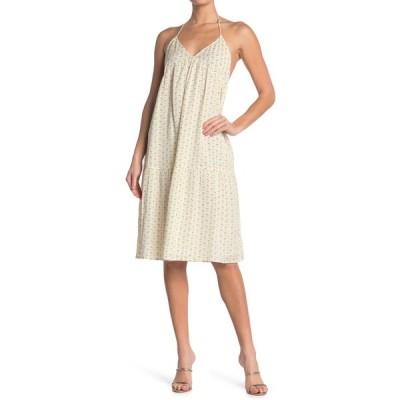 バッシュ レディース ワンピース トップス Ella Printed Dress ECRU