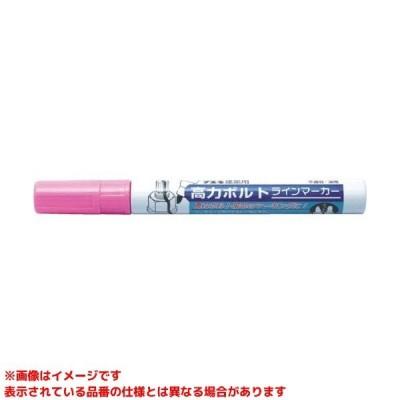 【BMA10 (460876)】 《KJK》 不易糊工業 建築用高力ボルトラインマーカー蛍光ピンク ωο0