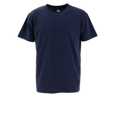 アンブロ(UMBRO)ヘリテージ ワンポイント 半袖 Tシャツ ULURJA63 NVY