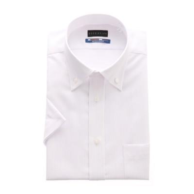 ボタンダウンスタイリッシュワイシャツ【NON IRONMAX COOL】