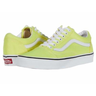 バンズ スニーカー シューズ メンズ Old Skool (Neon) Lemon Tonic/True White