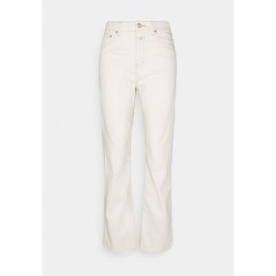 クローズド デニムパンツ レディース ボトムス BAYLIN - Flared Jeans - creme