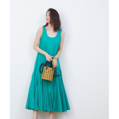 Rouge vif la cle/ルージュ・ヴィフ ラクレ 【MARIHA】別注  海の月影のドレス グリーン F