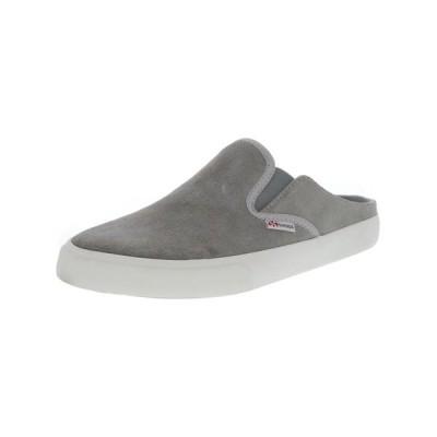 ユニセックスアダルトシューズ スペルガ Superga 2388 Suew Leather Slip-On Shoes