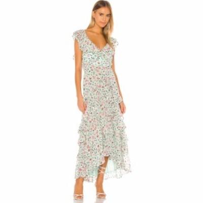 SAU LEE レディース ワンピース ワンピース・ドレス Nicole Dress Green Multi